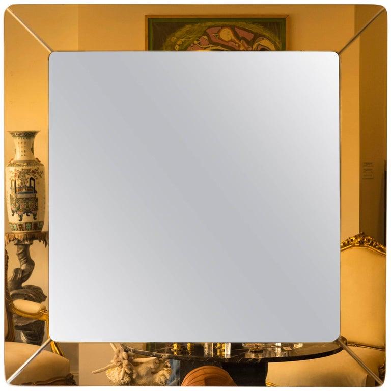 Italian Fontana Arte Style Mirror