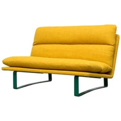 Sunshine Yellow Kho Liang Ie Loveseat for Artifort