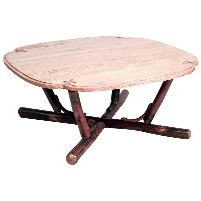 American Rustic Old Hickory '20th Century' Coffee Table