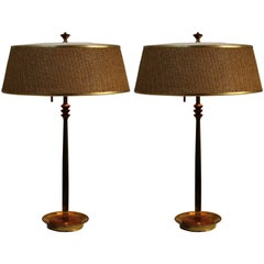 Pair of Midcentury Lamps Attributed to Gerald Thurston