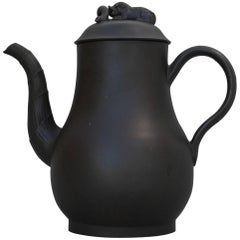 Coffee Pot in Black Basalt, Thomas Barker, circa 1765