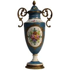 Birks Porcelain Lidded Urn
