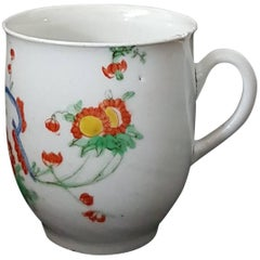 Coffee Cup, Kakiemon Decoration, Plymouth, circa 1769