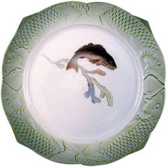 "Arnold Krog for Royal Copenhagen: ""Fish Service"" Dinner Plate in Porcelain"