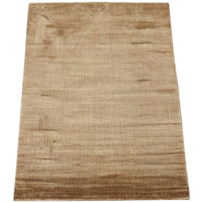 Small modern bamboo silk area rug for sale at 1stdibs for Modern area rugs for sale