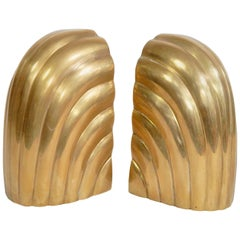 Pair of Solid Brass Bookends