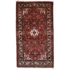 Handmade Vintage Persian Hamadan Rug, 1970s