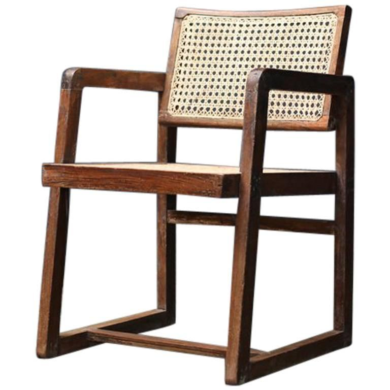 Big Box Chair by Pierre Jeanneret For Sale