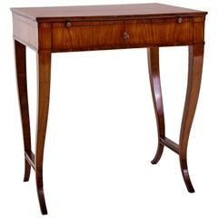 German Cherrywood Biedermeier Writing Table, circa 1820