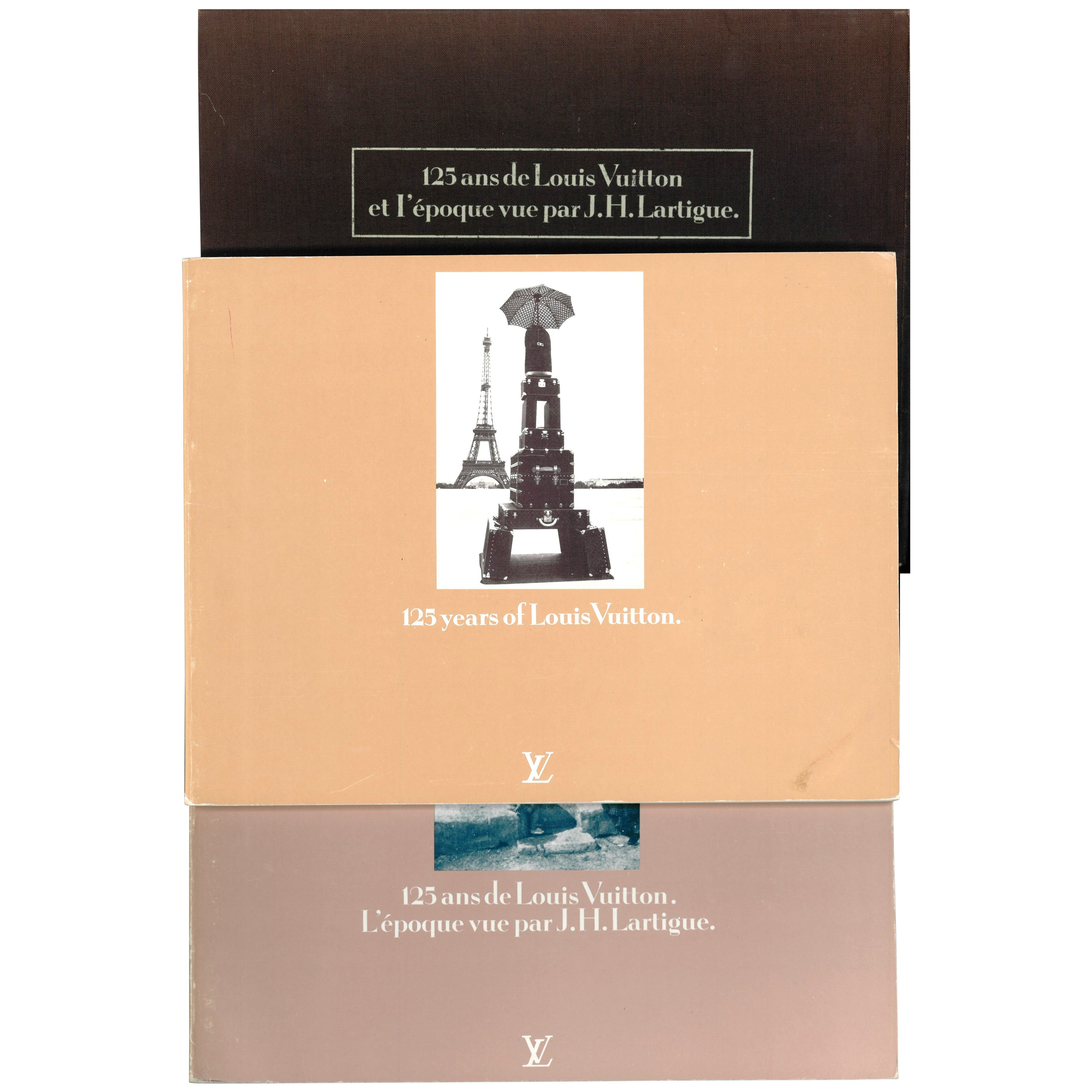 """""""125 Years of Louis Vuitton"""", Two Books"""