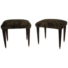 Pair of Italian Design Stools