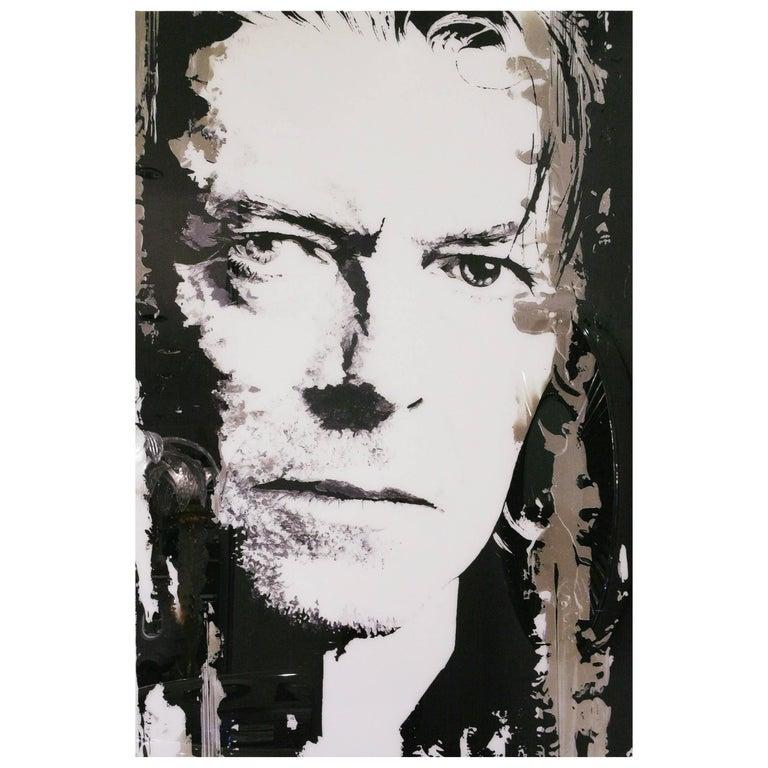 David Bowie Photography on Plexiglass