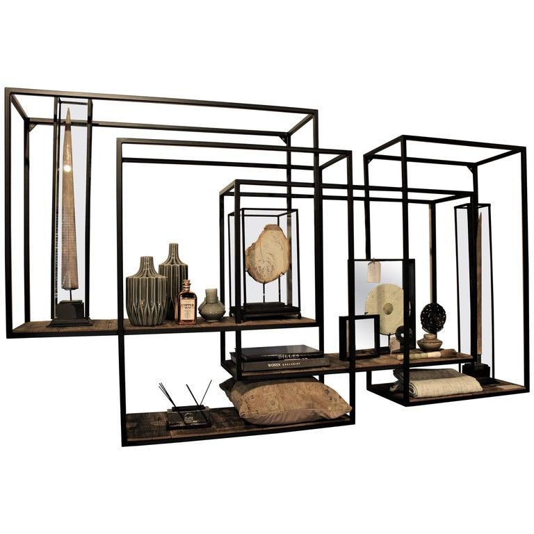 Global Views Wall Shelf: Industrial Shelf At 1stdibs