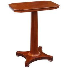 Victorian Rectangular Mahogany Occasional Table