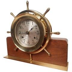 Unique Vintage Seth Thomas Mantle or Shelf Clock