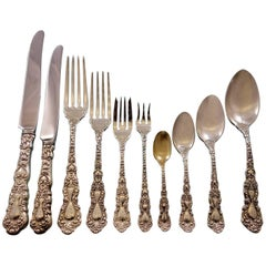 Imperial Chrysanthemum by Gorham Sterling Silver Flatware Set 12 Service 138 Pc