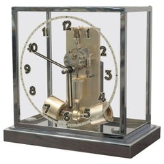 Table Clock under Glass Dome Junghans ATO, 1935