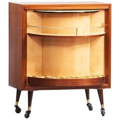 Mid-Century Modern Bar Cabinet
