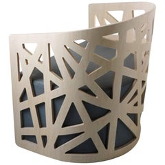 Mazy Arabesco Armchair, Contemporary Lounge Chair