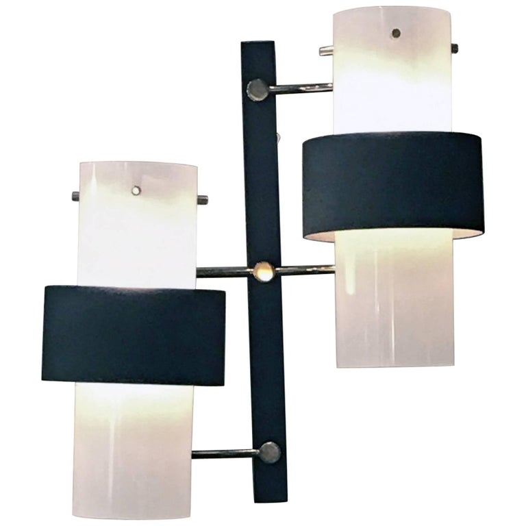 Pair of Sconces by Maison Arlus, France, 1960s