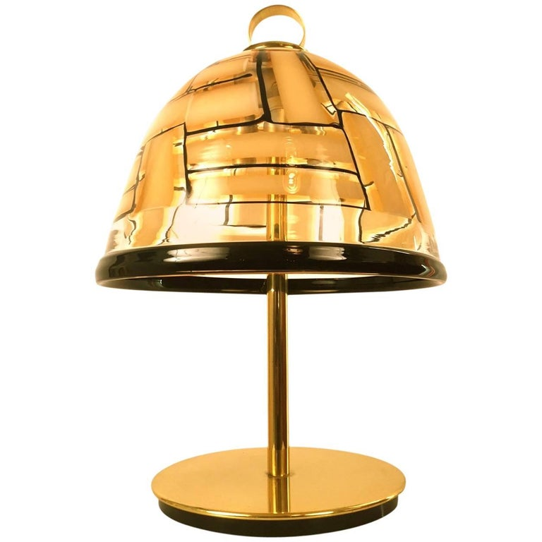 Barovier and Toso Table Lamp, 1950s