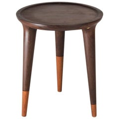 Chamak Tropical Wood Side Table