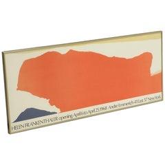 Helen Frankenthaler Lithograph for Andre Emmerich Gallery Opening, New York