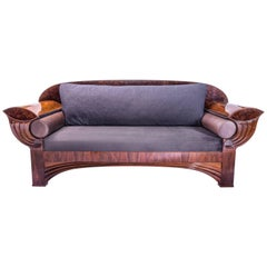 Kongo Sofa, Contemporary Art Deco Influence by Gausbauer Austria