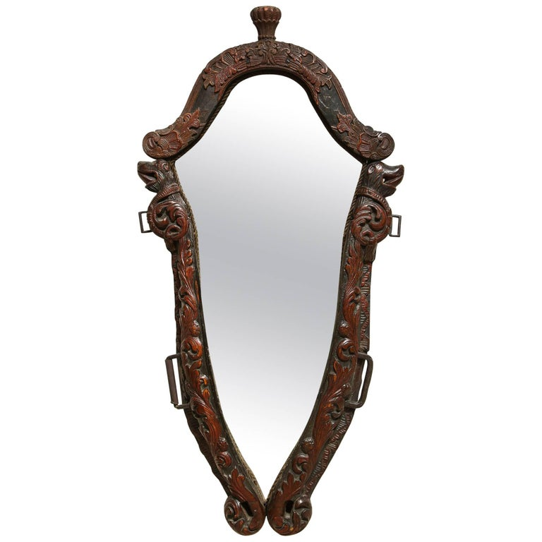 Norwegian Folk Art Mirror
