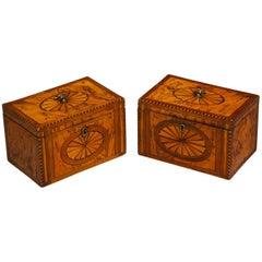 Pair of Georgian Boxes