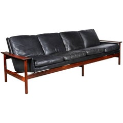 Sven Ivar Dysthe 7001 Leather Sofa