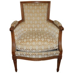 Charming 19th Century French Bergere Chair