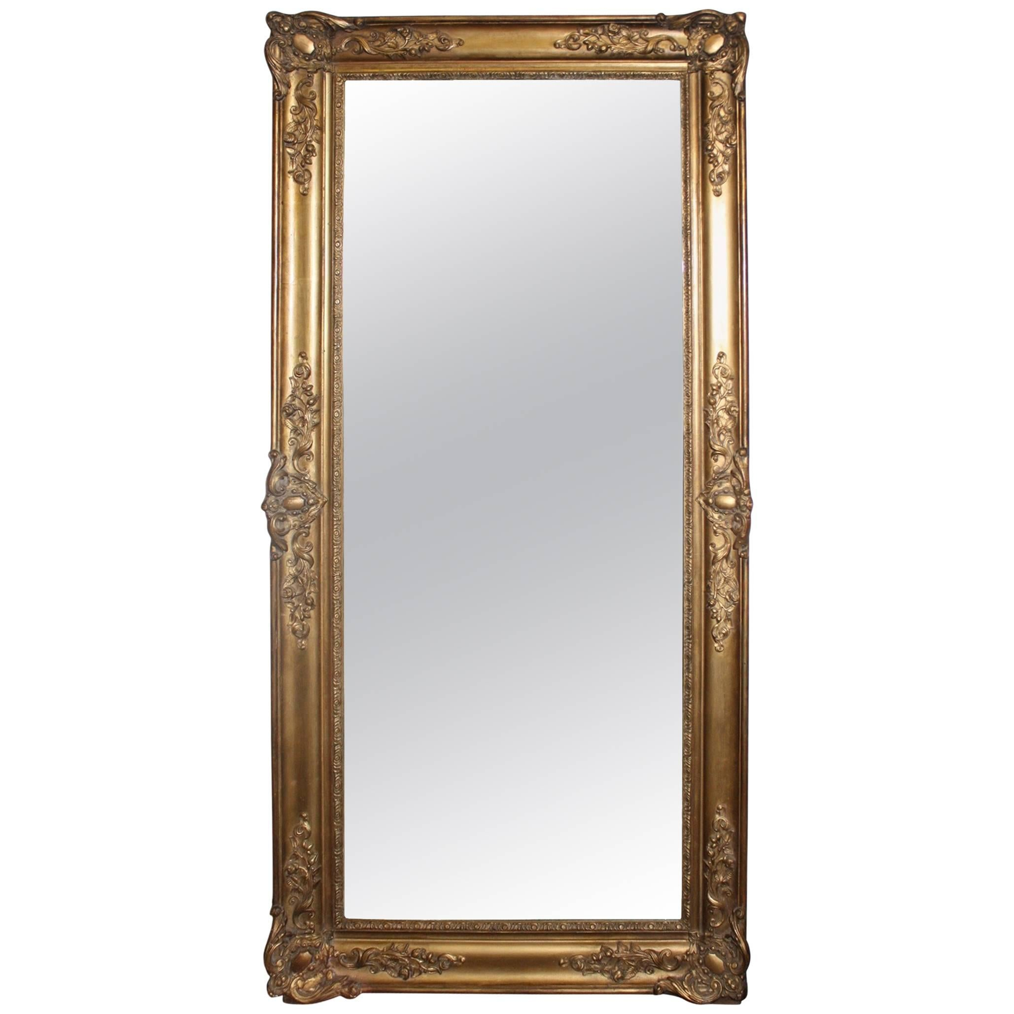 Charming 19th Century French Mirror