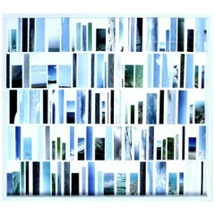"""""""Ocean Fragments 2"""" a Photographic Collage by Artist Gustavo Oviedo"""