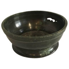 17th Century Bronze Temple Offering Bowl Excavated / Central Highlands Vietnam