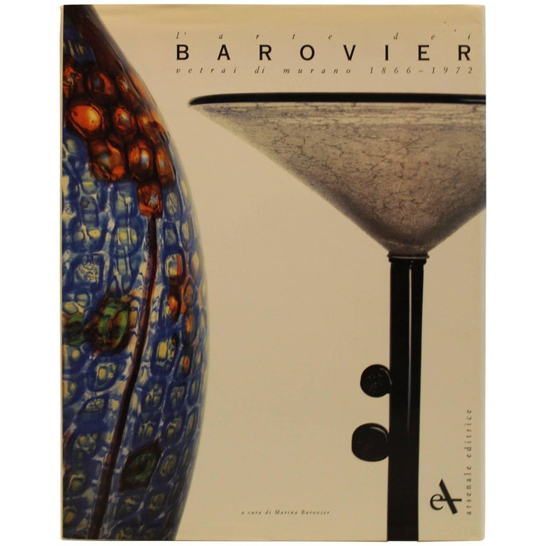 Barovier e Toso Book 184 Illustrations from 1866-1972