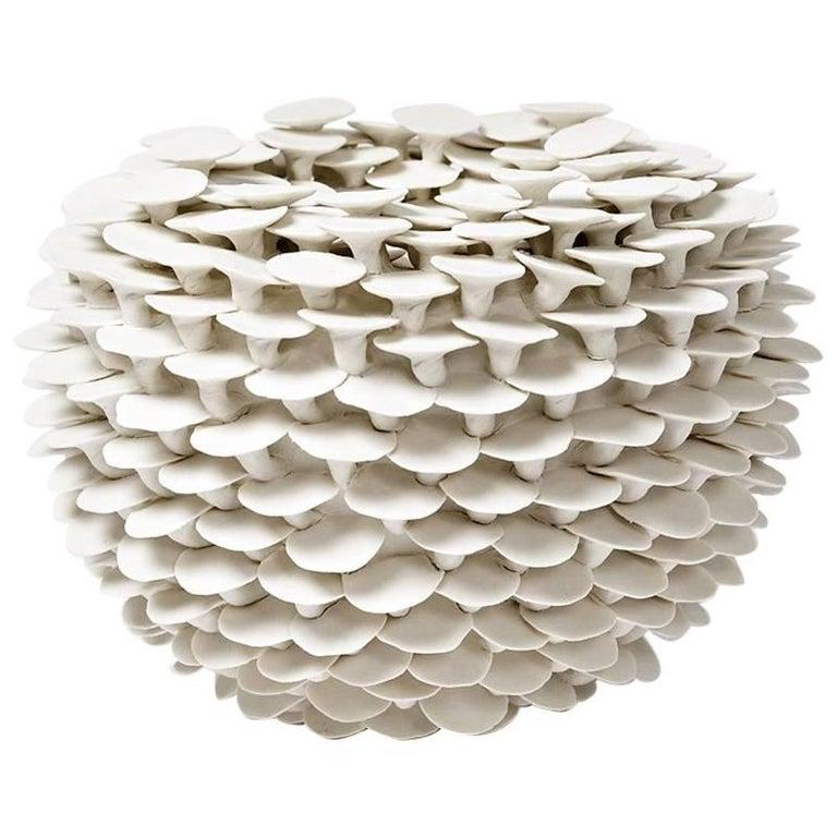"""Elegant Porcelain Sculpture by Mart Schrijvers Entitled """"Solstice"""", 2017"""