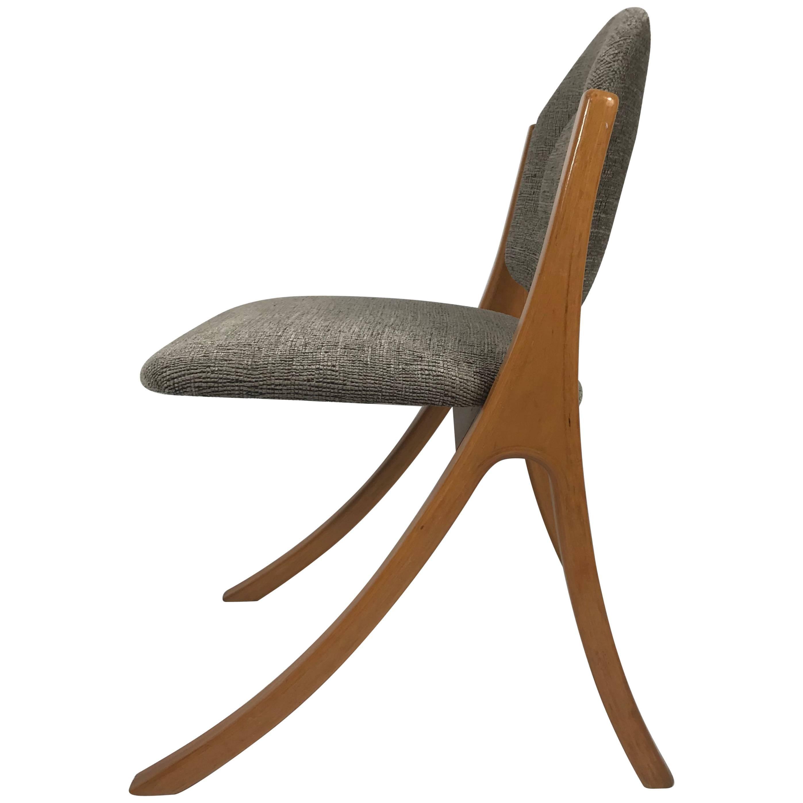 "Rare Danish ""Wishbone"" Side or Desk Chair George Petersens, Denmark"