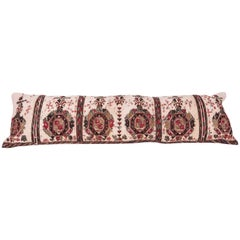 Long Antique Pillow Case Made from a 19th Century Macedonian Greek Embroidery