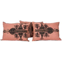 Old Pillow Cases made from a Mid-20th Century Western Anatolian folk Embroidery