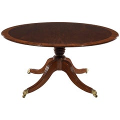 George iv Mahogany and Rosewood Banded Breakfast Table