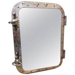 Ship's Porthole Window Converted to Mirror