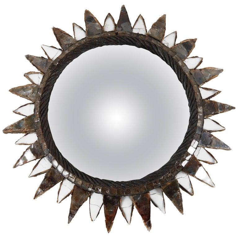 """Line Vautrin, Mirror """"Soleil à pointes n°2"""", circa 1955"""