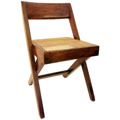 Pierre Jeanneret Library Chair, 1950s