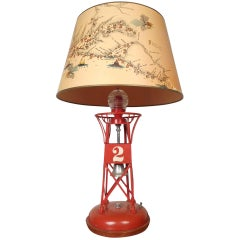 Unique Vintage Nautical Lighthouse Table Lamp