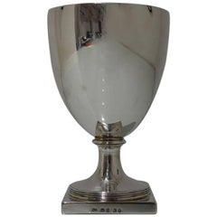 Antique Sterling Silver George III Wine Goblet London 1802 Richard Cooke