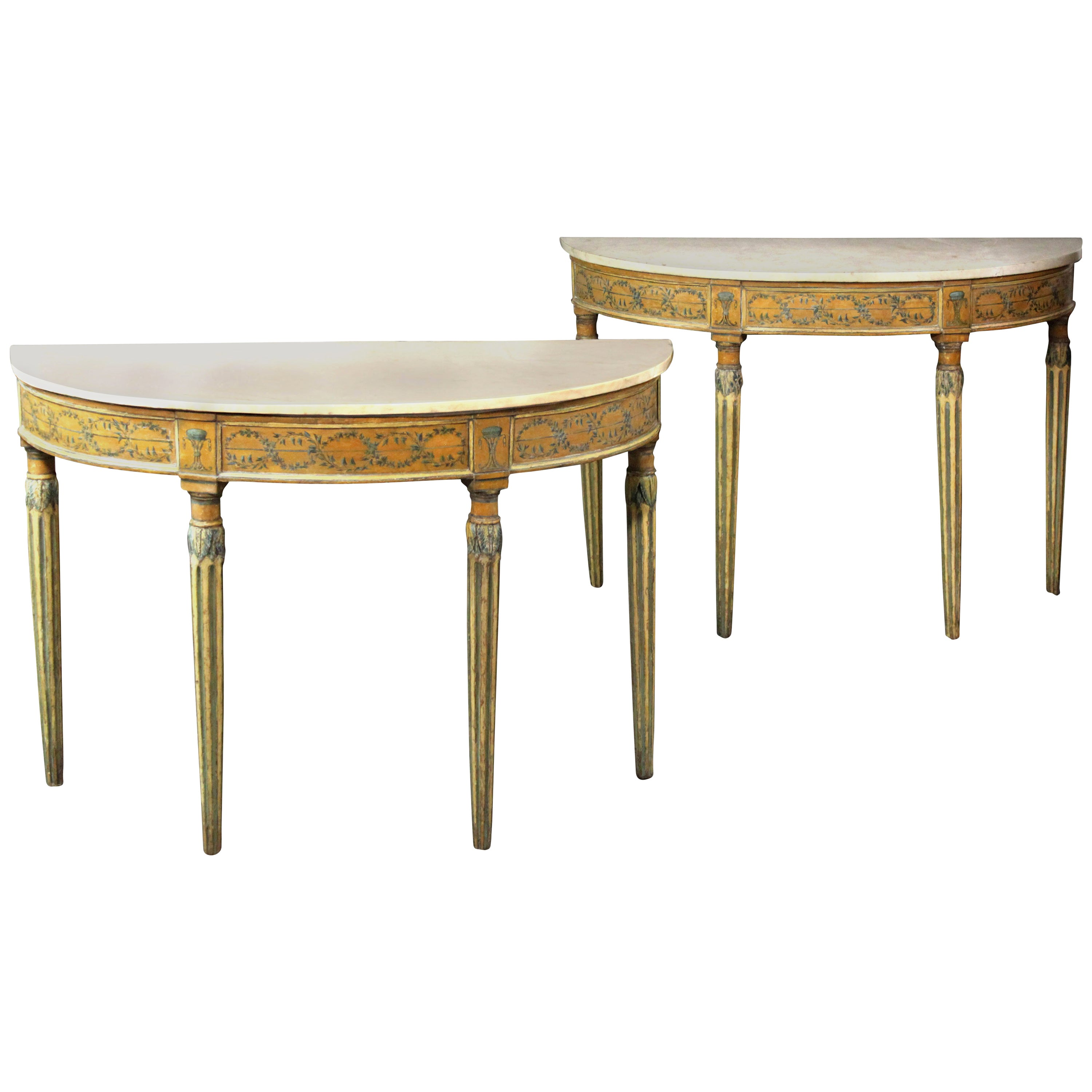 Pair of 18th Century Side or Console Tables