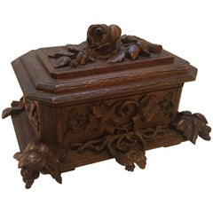 Black Forrest Hinged Table Box