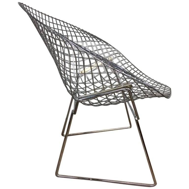Bertoia Diamond Chair by Knoll International
