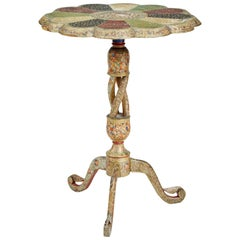 Late 19th Century Russian Polychrome Occasional Table